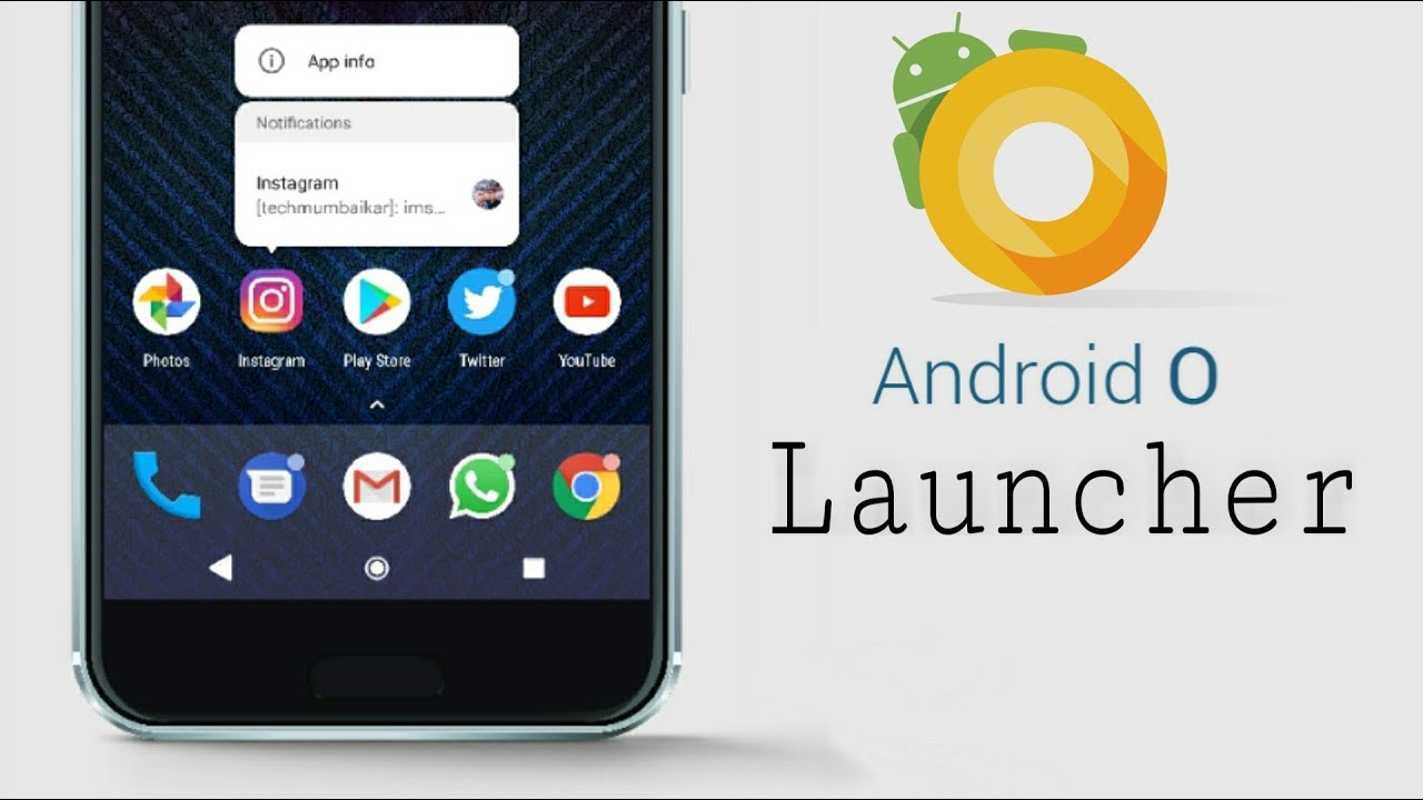 Android Oreo Launcher - DOWNLOAD Now!🔥