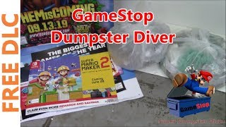 Labor Day Weekend! Gamestop Dumpster Dive #84
