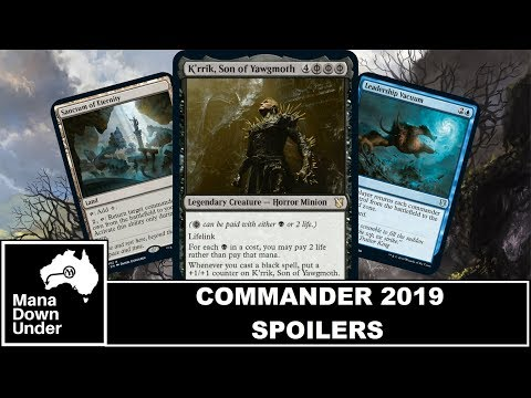 Commander 2019 Spoilers - They Reprinted Phyrexian Mana!!! [MTG