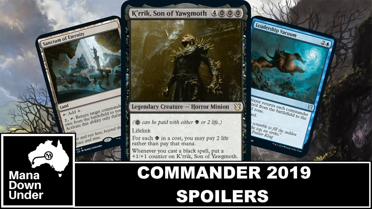 Commander 2019 Spoilers - They Reprinted Phyrexian Mana!!! [MTG / Magic:  The Gathering]