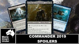 Commander 2019 Spoilers video, Commander 2019 Spoilers clips