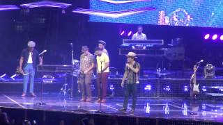 "Bruno Mars ""Just The Way You Are"" Live from Tampa Bay Times Forum 8-28-2013"
