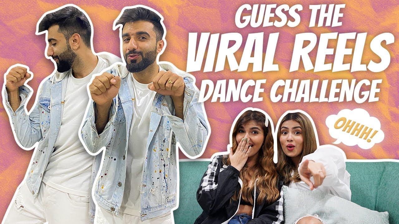Download GUESS THE VIRAL REELS/TIKTOK DANCE CHALLENGE   ft. AASHNA & ASHI   Mr.MNV  