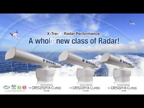 FURUNO Marine RADAR DRS X-Class series