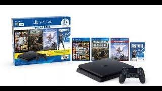 NUEVO MEGAPACK DE PS4 UNBOXING / GTA V/DAYS GONE/HORIZONT ZERO DAWN/FORTNITE NEOVERSA PACK