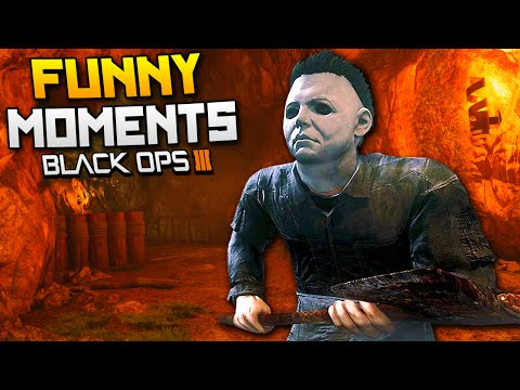 Black Ops 3 Funny Moments - Michael Myers & Golf! (BO3 Custom Games)