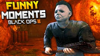 Black Ops 3 Funny Moments - Michael Myers & Golf! (BO3 Custom Games)