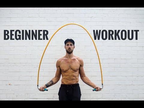 Beginner Jumping Rope Workout