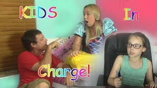 If Kids Were In Charge - Parents Acting Like Kids  Funtastic Family