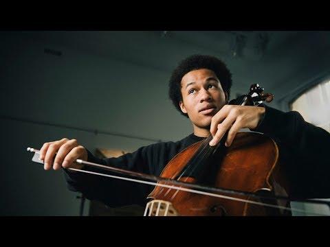 When Sheku Kanneh-Mason Met the Rostropovich Cellos