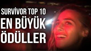 En Büyük Survivor Ödülleri | Top10