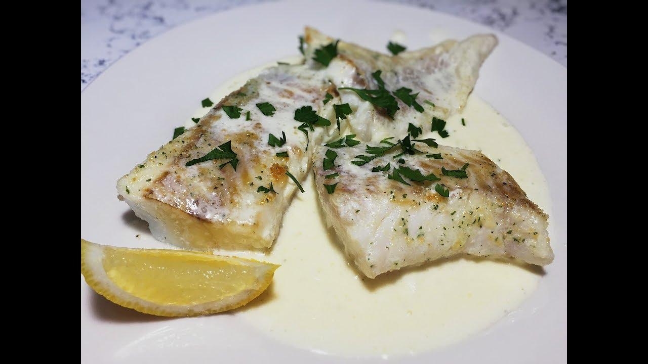 Marine fish. Appetizing recipes