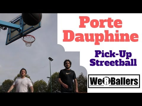 We R Ballers Porte Dauphine Pick Up Basketball with Justin Stephenson