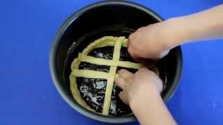 """Рецепт приготовления песочного пирога """"Курабье"""" в мультиварке VITEK VT-4209 BW"""