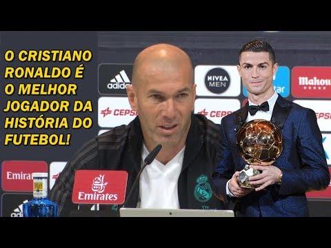 Zidane diz que o Cristiano Ronaldo é o melhor da história do futebol! thumbnail