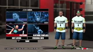 WWE 2K15 John Cena The Champ Is Here Attire