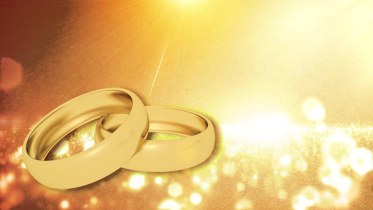 Wedding Video Background Ring Animation Hd