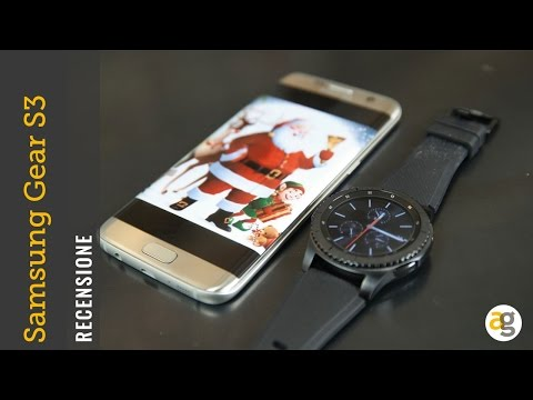 Samsung Gear S3 Recensione