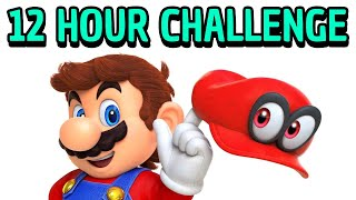 I tried learning how to speedrun Mario Odyssey in 12 hours.