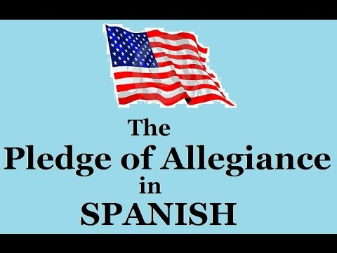 photo regarding Pledge of Allegiance in Spanish Printable identify Pledge of Allegiance inside Spanish - Model #1 (sluggish toward instant)