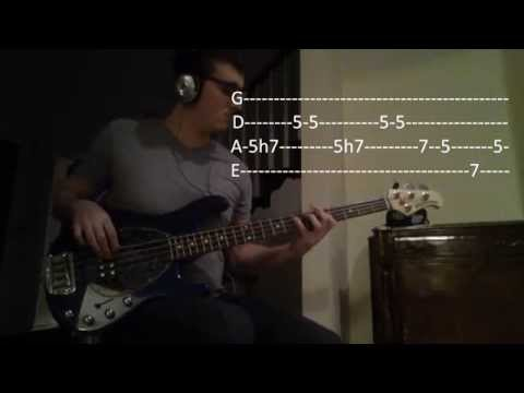 Sublime - Pawn Shop (Bass Cover + Tabs/Play Along)