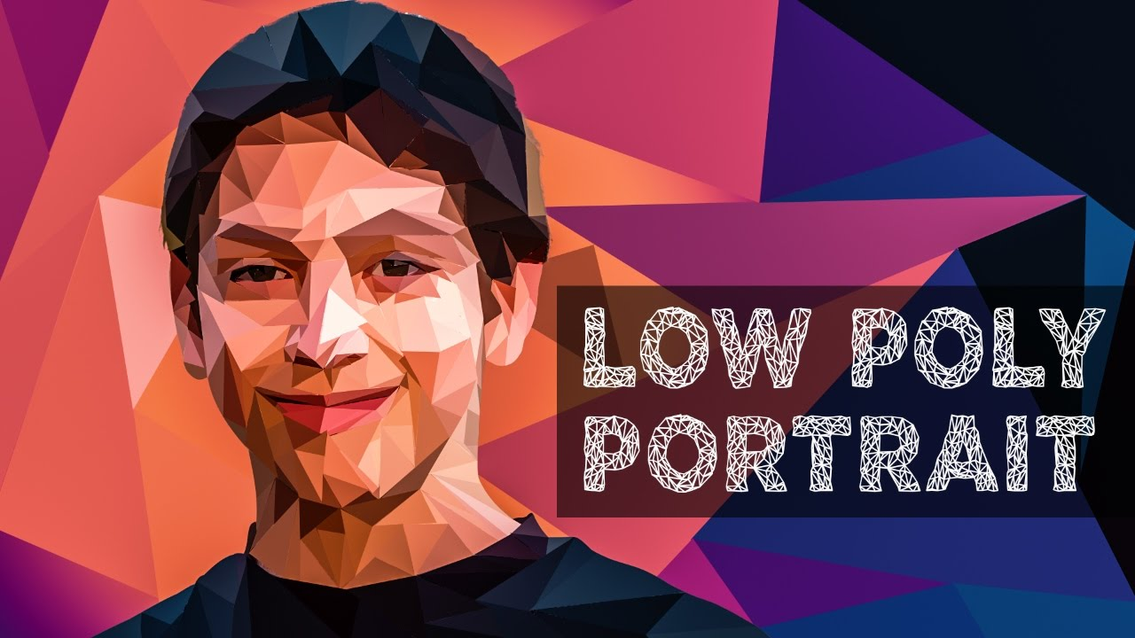 Low poly portrait effect photoshop tutorial polygonal portrait low poly portrait effect photoshop tutorial polygonal portrait baditri Choice Image
