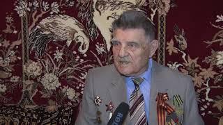 """""""Победа - это..."""" - Захаркин Егор Алексеевич - житель г.Туапсе, ветеран ВОВ."""