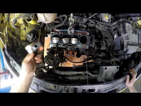 Фото к видео: Разборка двигателя 1.6MPI
