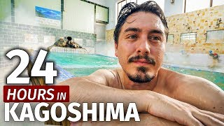 Relaxing in a Japanese Hot Spring | 24 Hours in Kagoshima