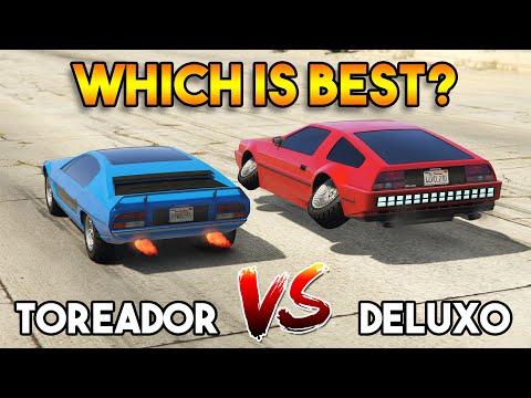 GTA 5 ONLINE : TOREADOR VS DELUXO (WHICH IS BEST?)