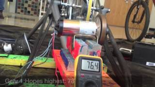The Langley School ~ Science Project: How does a bicycle generator work?