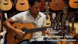 """""""Idilio"""" (Santy, el tresero cubano)"""