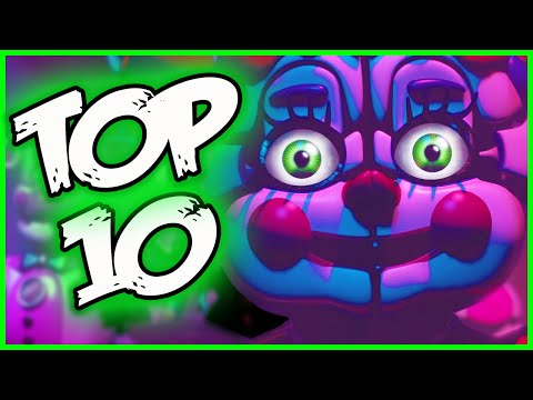 FNAF Sister Location Trailer 'Top 10 THINGS YOU MISSED' - Five Nights at Freddy's Sister Location