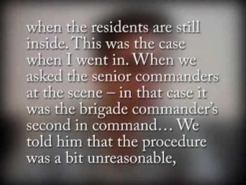 témoignage d'un soldat israélien, Rafah