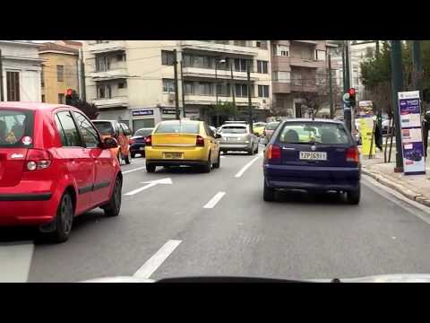 MORNING DRIVE in Athens and Penteli