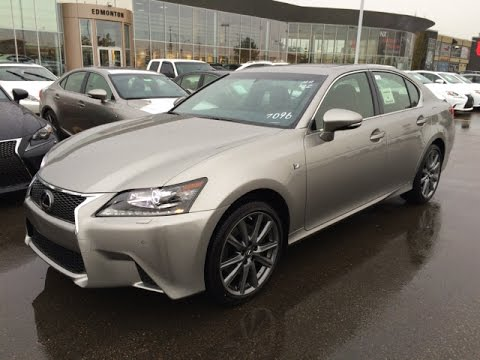 new 2015 lexus gs 350 awd f sport series 2 review youtube. Black Bedroom Furniture Sets. Home Design Ideas