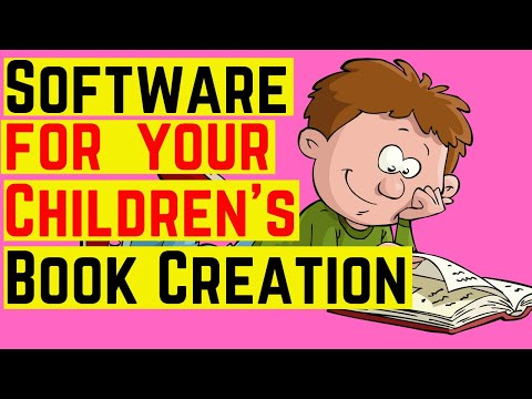 Software For Your Children's Book Creation ♥️