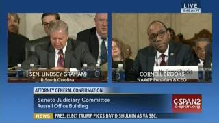 Lindsey Graham Schools NAACP President At Sessions Hearing