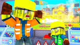 EINBRUCH in DIE BAUSTELLE?! - Minecraft ALLTAG