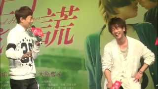 Sato Takeru 佐藤健 Press Tour for The Liar and His Lover カノジョは嘘を愛しすぎてる