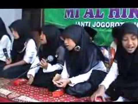 Ekstrakurikuler Banjari MI. AL-HIKMAH In Acara HAFLAH JUZ AMMA