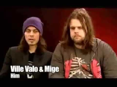 Interview Ville Valo and Mige about sex