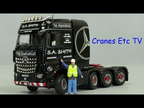 IMC Mercedes-Benz Arocs BigSpace 'S A Smith' by Cranes Etc TV