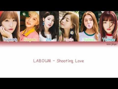 LABOUM (라붐) – Shooting Love (푱푱) Lyrics (Han Rom Eng Color Coded)