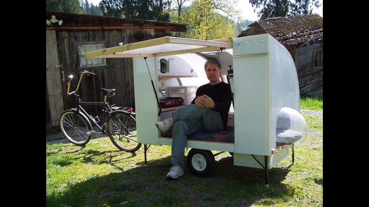 Mobile Bug Out Trailers : Bugout bicycle camper doovi