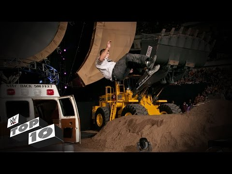 Shane McMahon's Powerful Moves - WWE Top 10, February 27, 2016