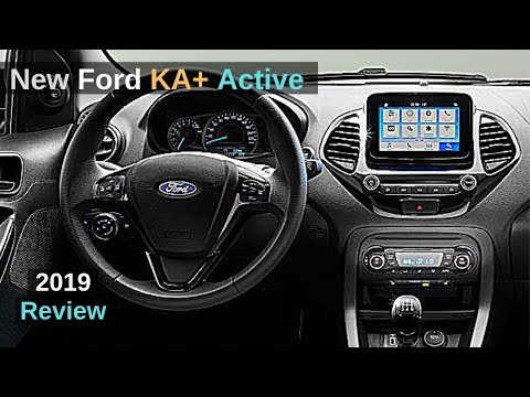 New Ford KA+ Plus Active 2019 Review Interior Exterior
