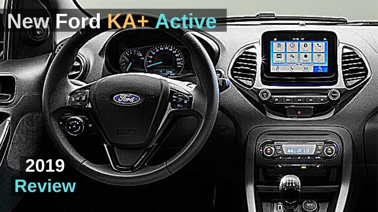 New Ford Ka Plus Active 2019 Review Interior Exterior Youtube