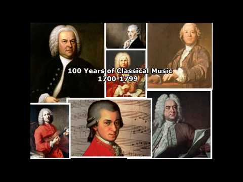 100 Years of Classical Music: 17001799