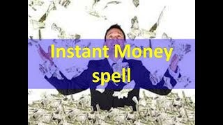 Instant money spells which will help you to overcome from debts